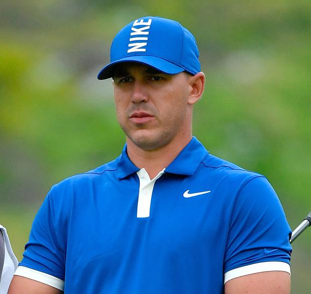 Brooks Koepka looks at ease at Bethpage Black. Photo: Getty