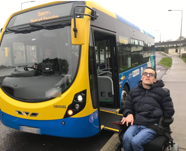 Karl Cretzan says the new buses are less accessible than the older vehicles they replaced
