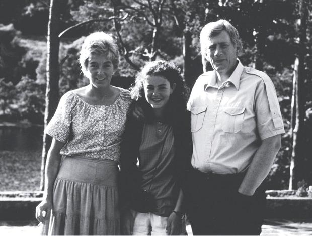 Seamus Mallon with wife Gertrude and daughter Orla