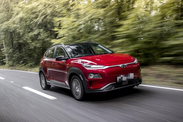 Game-changer: With a range of 449km, the Hyundai Kona Electric is the best-selling EV in Ireland, though it costs up to €17,000 more than the petrol version