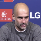 Pep Guardiola hit back at the reporter that quizzed him on his financial arrangements with Manchester City