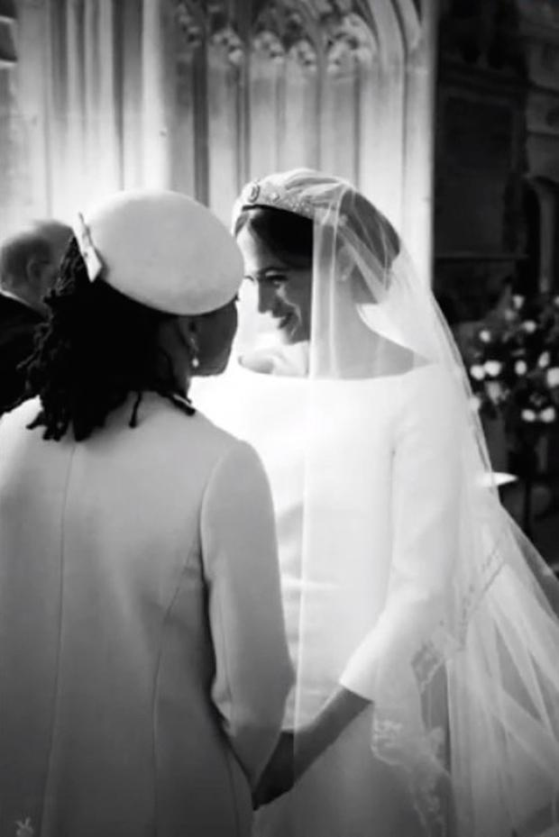 Screengrab taken from the Instagram feed of Sussex Royal of images from the wedding day of the The Duke and Duchess of Sussex, they celebrate their first first wedding anniversary today - and are a family of three with the arrival of baby Archie. Photo: @sussexroyal/PA Wire