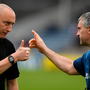 Referee John Keenan and Tipperary manager Liam Sheedy before the Munster GAA Hurling Senior Championship Round 2 match between Tipperary and Waterford at Semple Stadium. Photo by Ray McManus/Sportsfile