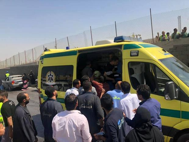 Egypt bus bomb attack injures tourists outside Giza museum