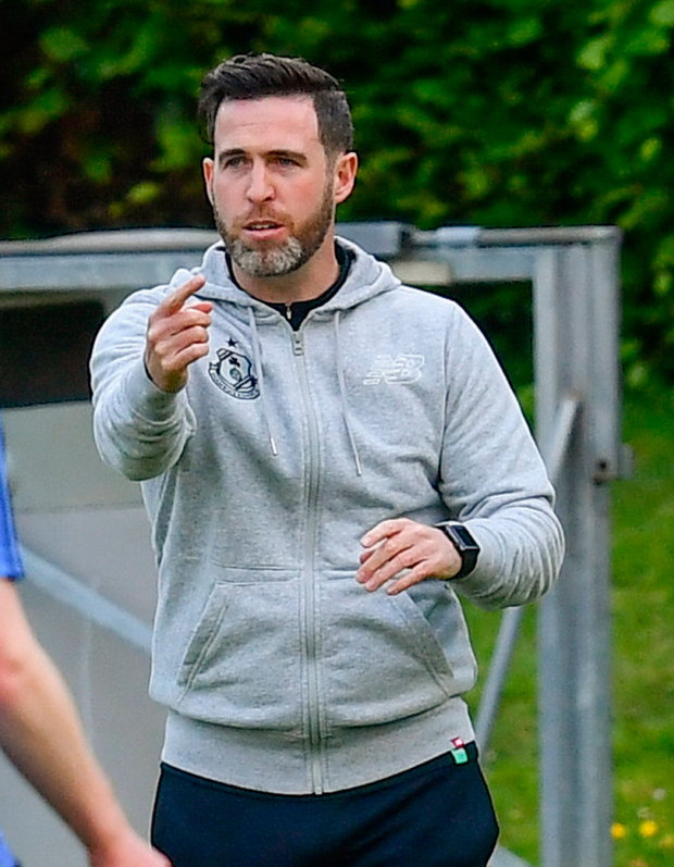 Shamrock Rovers manager Stephen Bradley