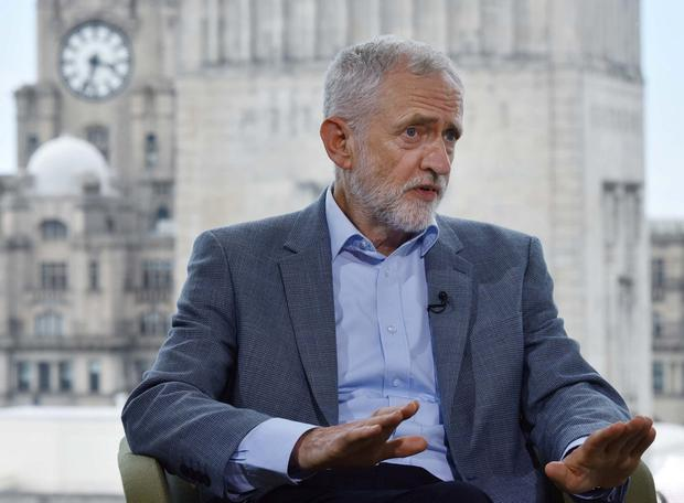 Talks collapsed: UK Labour leader Jeremy Corbyn ended discussions. Photo: Jeff Overs/BBC/Handout via REUTERS