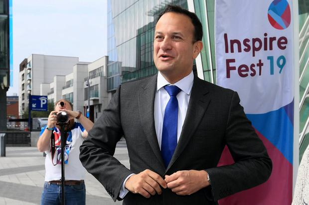 Support for Taoiseach Leo Varadkar's party stands at less than 30pc according to two opinion polls at the weekend. Photo: Frank McGrath