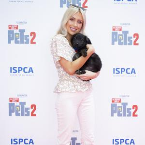 Rosie Connolly at the Irish premiere screening of The Secret Life of Pets 2 at Odeon Point Square, Dublin hosted by Universal Pictures in association with the ISPCA. Picture: Anthony Woods
