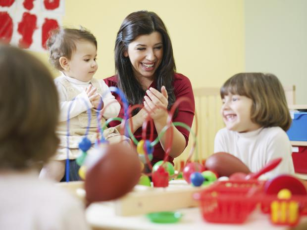 'The need for childcare has never been quite so acute, nor the costs as high.' (Stock photo)