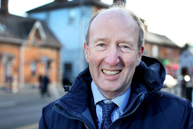 Minister for Tourism, Transport and Sport Shane Ross. Photo: Steve Humphreys