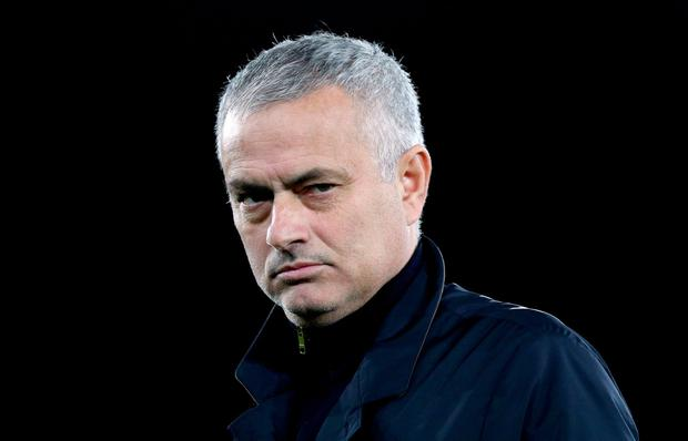 Mourinho has been without a club since his departure from Manchester United back in December. Pic: Andrew Matthews/PA Wire.