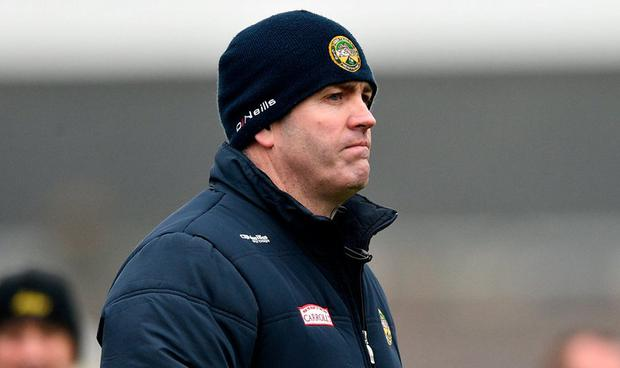 Kevin Martin has been relieved of his duties as Offaly manager Photo: Matt Browne/Sportsfile