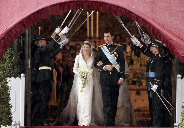 Wedding In Spanish.A Look Back The Spanish Royal Wedding 15 Years Ago And The