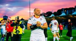 Rory Best of Ulster after the Guinness PRO14 Semi-Final match between Glasgow Warriors and Ulster at Scotstoun Stadium in Glasgow, Scotland. Photo by Ross Parker/Sportsfile