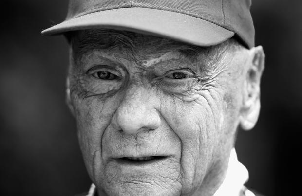F1 Legend Niki Lauda has passed away. (Photo by Clive Mason/Getty Images)