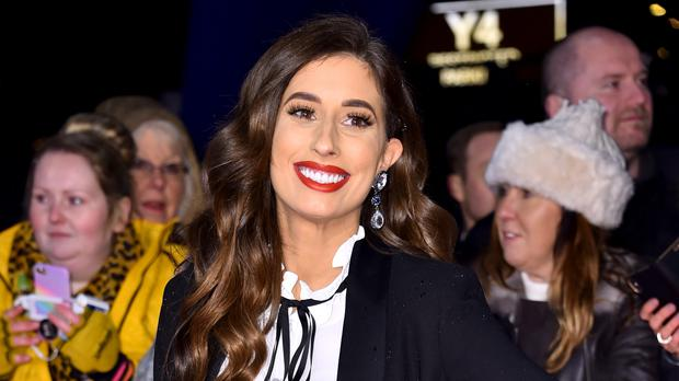 Stacey Solomon is happy to 'challenge narrative' around shaming women's bodies (Matt Crossick/PA)
