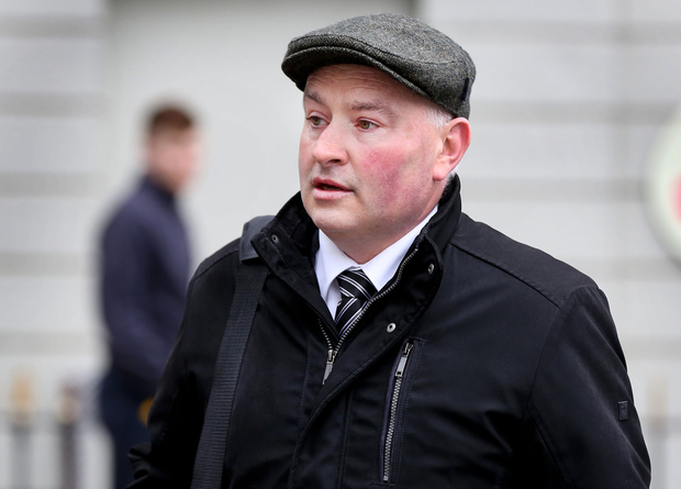 Patrick Quirke: Jailed for life after majority guilty verdict. Picture: Steve Humphreys