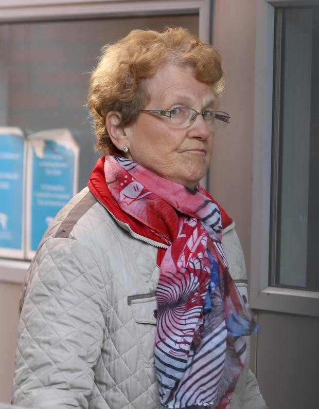Hit by falling luggage: Phyllis Brady had been a very active person before the incident on a Ryanair flight from Malaga to Dublin in October 2015. Photo: Collins