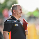 Carlow manager Turlough O'Brien. Photo: Matt Browne/Sportsfile