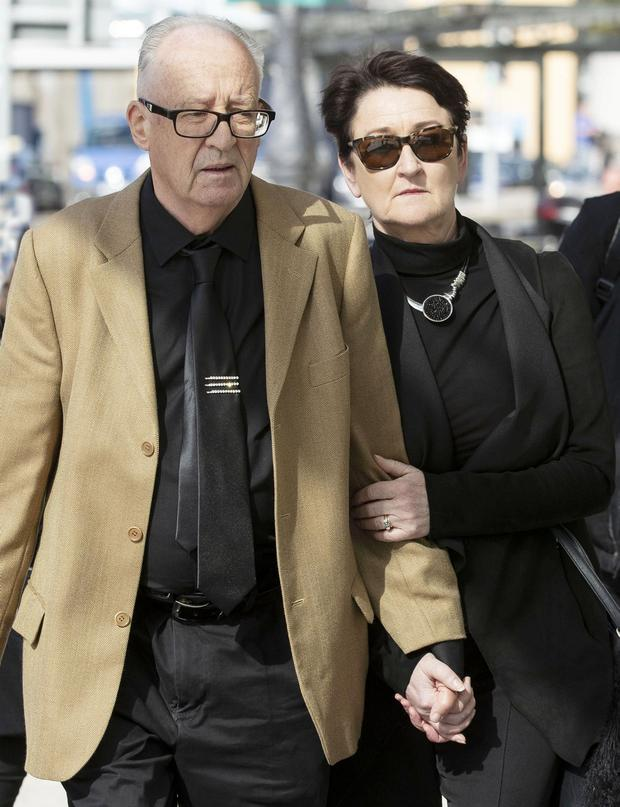 Patric and Geraldine Kriegel. Picture: Collins Courts