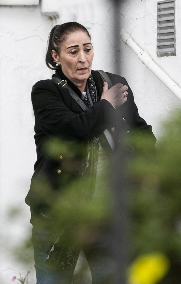 Kathleen Mulhall pictured by the Herald at her new home in Dublin