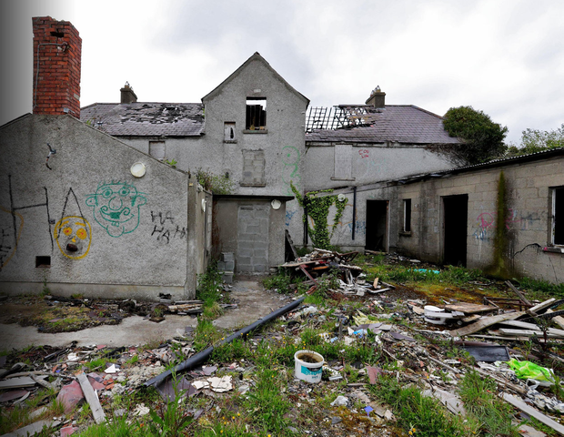 14-year-old schoolgirl Ana Kriegel's body was discovered at this derelict house in Clonee, Lucan last year
