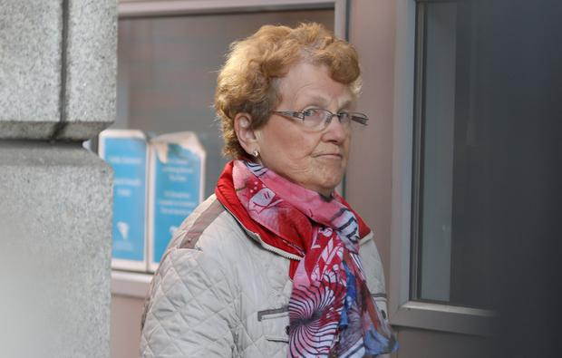 Phyllis Brady of Inishmann Road, Gaeltacht Park, Whitehall, Dublin 9 pictured at the Four Courts for a Circuit Civil Court action. Pic: Collins Courts