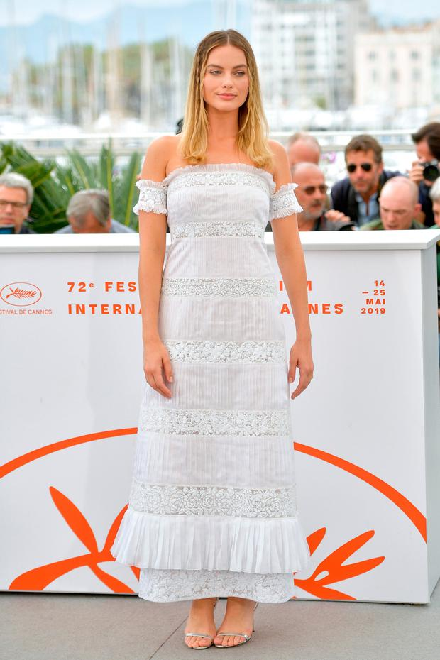 Margot Robbie attends the photocall for