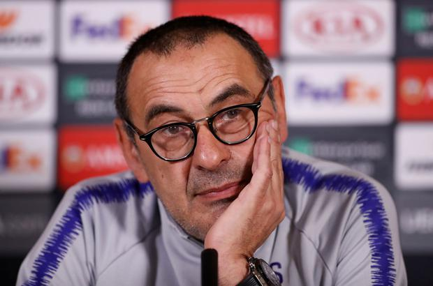 Sarri: Unhappy with treatment. Photo: Matthew Childs