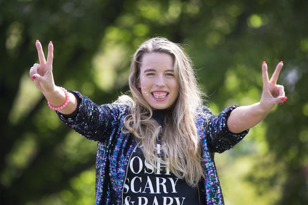 Spice Girls superfan Dáirne Black was seven years old when she first got into the Spice Girls. Photo: Colin O'Riordan