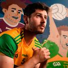 Donegal's Ryan McHugh says he has thought about changing the way he plays to avoid more knocks. Photo: Stephen McCarthy/Sportsfile
