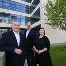 Fountain Healthcare Partners raises €118m for third fund bringing total capital under management to €294m. Pictured (left to right) Fountain Healthcare Partners Aidan King, Dr Manus Rogan and Dr Ena Prosser