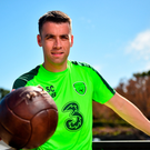 Seamus Coleman at The Campus in Quinta do Lago, Faro, Portugal. Photo by Seb Daly/Sportsfile