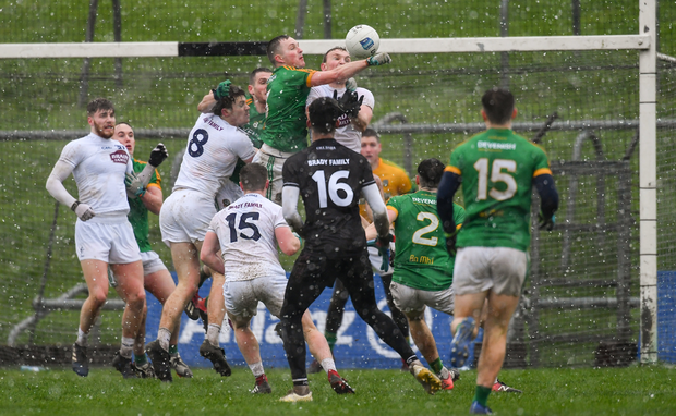 Kildare and Meath have improved in recent years, but still lag far behind Dublin. Photo by Piaras Ó Mídheach/Sportsfile