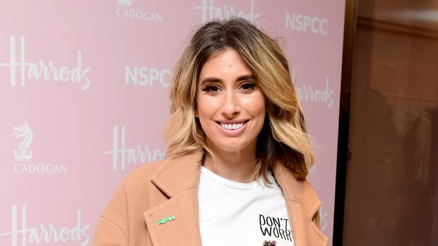 Stacey Solomon has given birth (Ian West/PA)