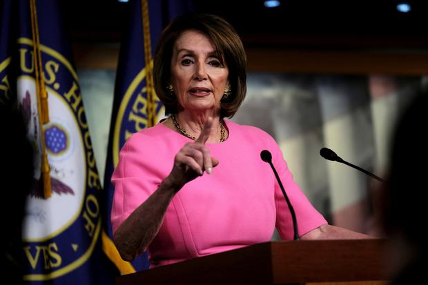 Tensions mounting: Calls are growing for House Speaker Nancy Pelosi to impeach US President Donald Trump. Photo: REUTERS/James Lawler Duggan