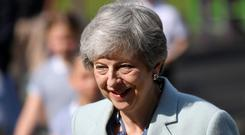 British Prime Minister Theresa May. Photo: REUTERS/Toby Melville