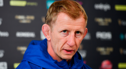 Leinster coach Leo Cullen. Photo: Ramsey Cardy/Sportsfile