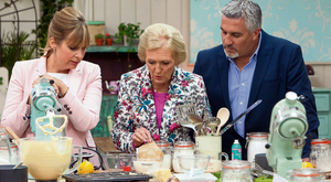 Weight for it: Mary Berry of 'The Great British Bake Off' would never have such problems. Photo: Mark Bourdillon