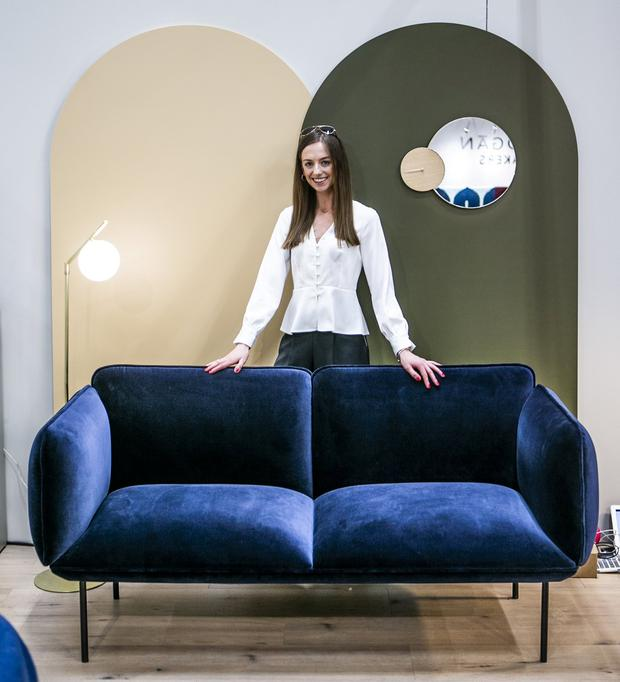Pauline Foley (29) Ranelagh at the CA Design Stand at the House Exibition in the RDS Main Hall.