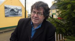 Farewell to Poetry: Gabriel Fitzmaurice is launching his last book next Friday. Photo: Don MacMonagle