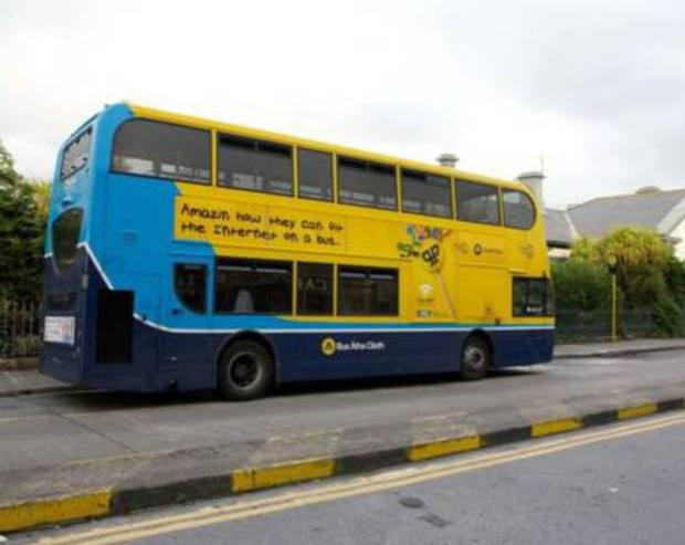 'Plans are now under way for buses in Dublin to run through the night, with the 41 route earmarked as the first to offer additional services' (stock photo)