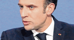 French President Emmanuel Macron. Photo: Reuters