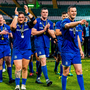 Johnny Sexton of Leinster leads his side off the pitch after the Guinness PRO14 Final match between Leinster and Glasgow Warriors at Celtic Park in Glasgow, Scotland. Photo by Ross Parker/Sportsfile