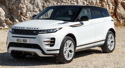 Luxurious: Second-generation Evoque has just arrived in Ireland
