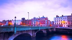 'Next time you are walking around Dublin, notice how long it takes for pedestrian lights to change to green' (stock photo)