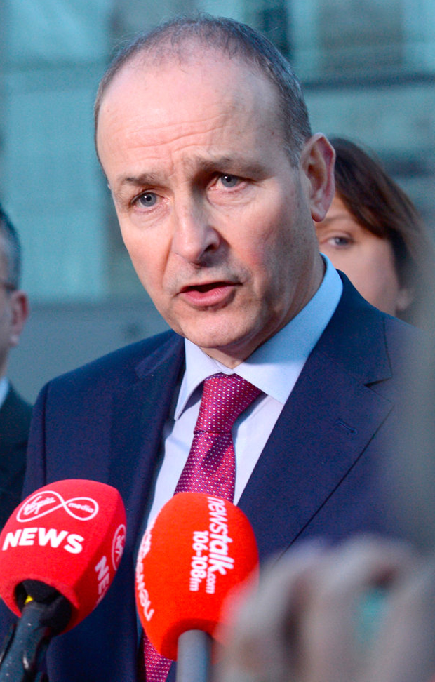 "'FF leader Micheal Martin (pictured), no doubt with relish, said Bailey's claim ""flies in the face of"" the Government's crusade against rising insurance premiums. In reply, minister Regina Doherty jumped to her FG colleague's defence, saying: ""Every individual has a right to take a case.""'"