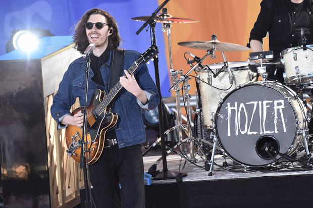 Hozier performs live at SummerStage at Rumsey Playfield, Central Park on May 24, 2019 in New York City. (Photo by Steven Ferdman/Getty Images)