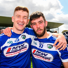 Evan O'Carroll, left, and Daniel O'Reilly of Laois