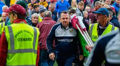 26 May 2019; Wexford manager Davy Fitzgerald following the Leinster GAA Hurling Senior Championship Round 3A match between Galway and Wexford at Pearse Stadium in Galway. Photo by Stephen McCarthy/Sportsfile